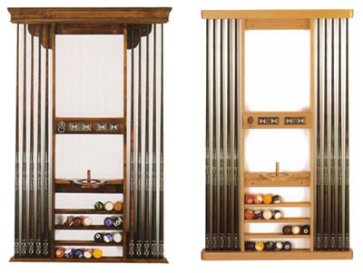 Pool cue rack plans for Cue rack plans
